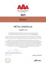Bisnode AAA Certification (eng)