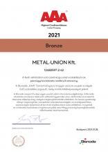 Bisnode AAA Certification (hun)