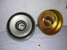 Untreated and zinc coated items