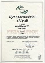 WRC Certification 2016